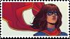 Ms. Marvel Stamp by SamoanVampCatt