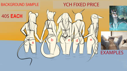 YCH FIXED PRICE  (anthro) by Kireya