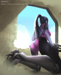 Widowmaker fanart (NSFW VERSION) by Kireya