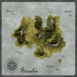 Map: The Island of Sasalin