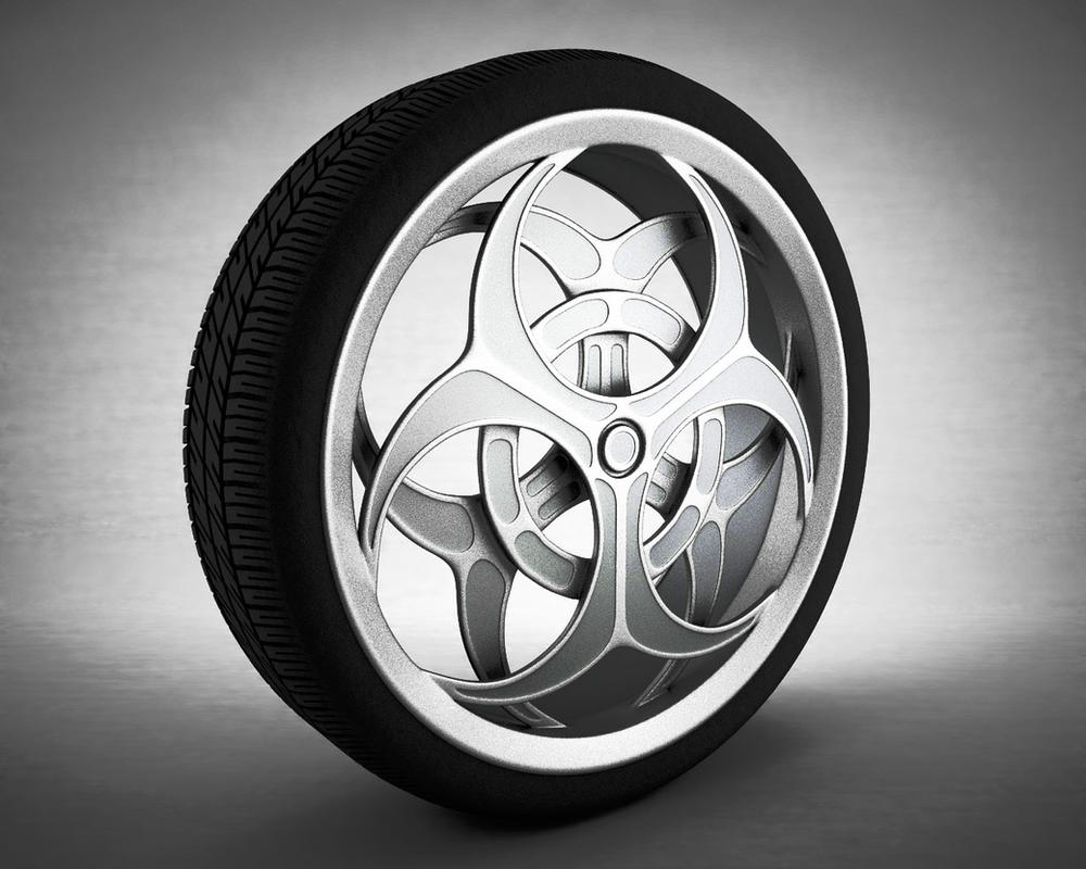 Biohazard Wheel by usere35