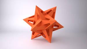 Dodecahedron Interlocking Star