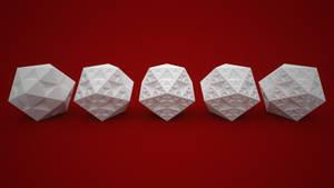 Icosahedron fractal