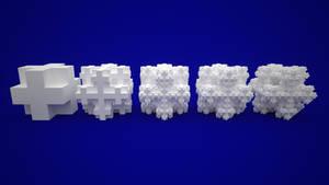 Koch Snowflake Sponge