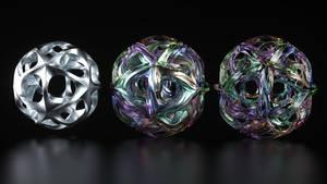 Icosahedron Twisted Loop 1