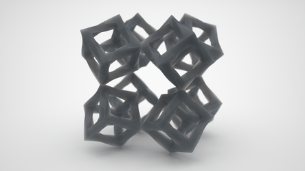 Twisted woven cube 3 sc250 by usere35