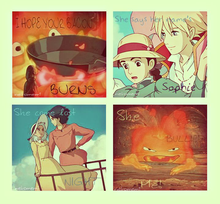 Howl's Moving Castle Quotes By Nekomemi On DeviantArt