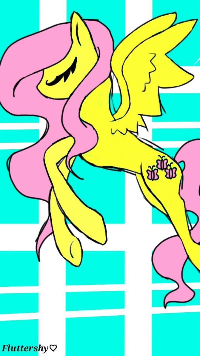 MLP Fluttershy by hotaru365