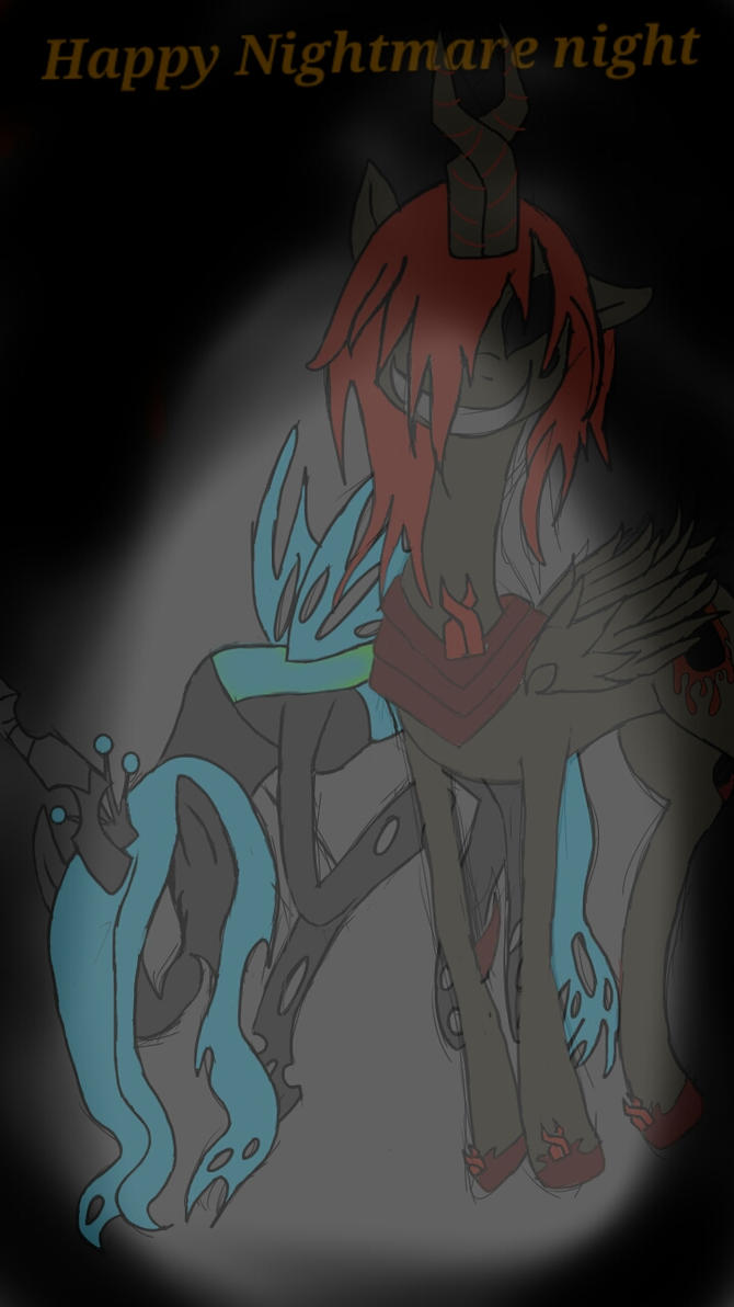 MLP Nightmare Night by hotaru365