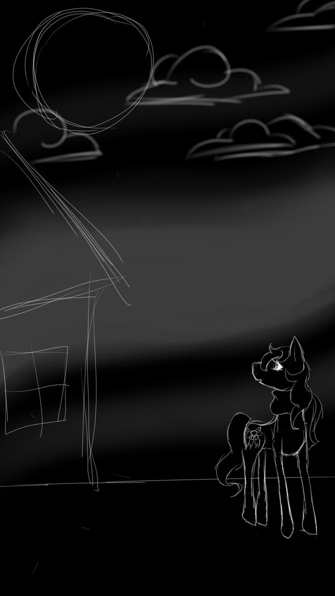 Pony Winter Night by hotaru365
