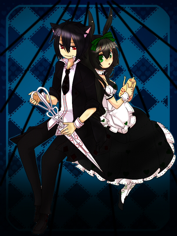 Neko boy and girl
