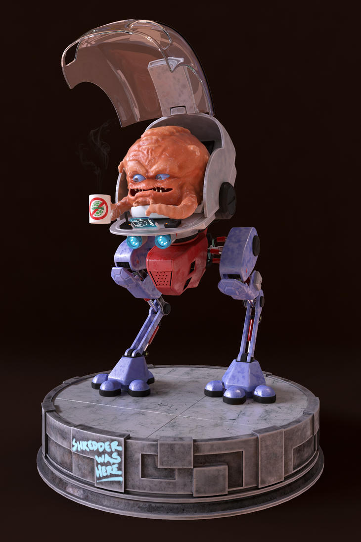 Krang Front 01 by Zsibo