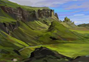 Mossy grass by fluffySlipper
