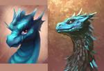 Blue dragon redraw