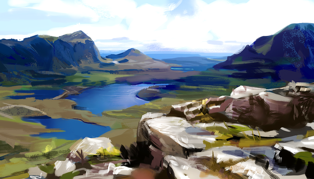 Scottish Highlands by fluffySlipper