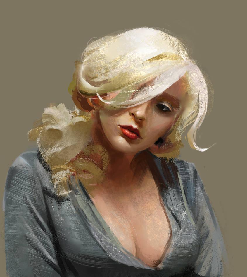 blonde fashion or something lmao by fluffySlipper