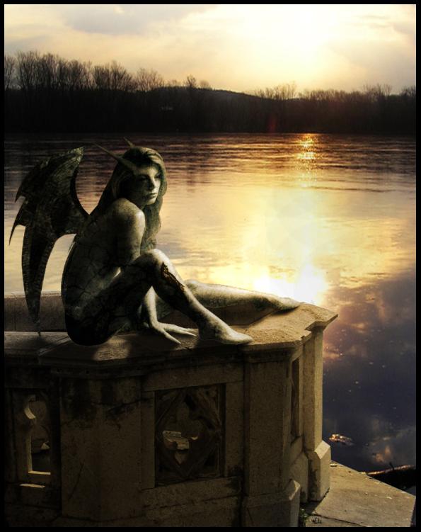 Gargoyle by raven-dev