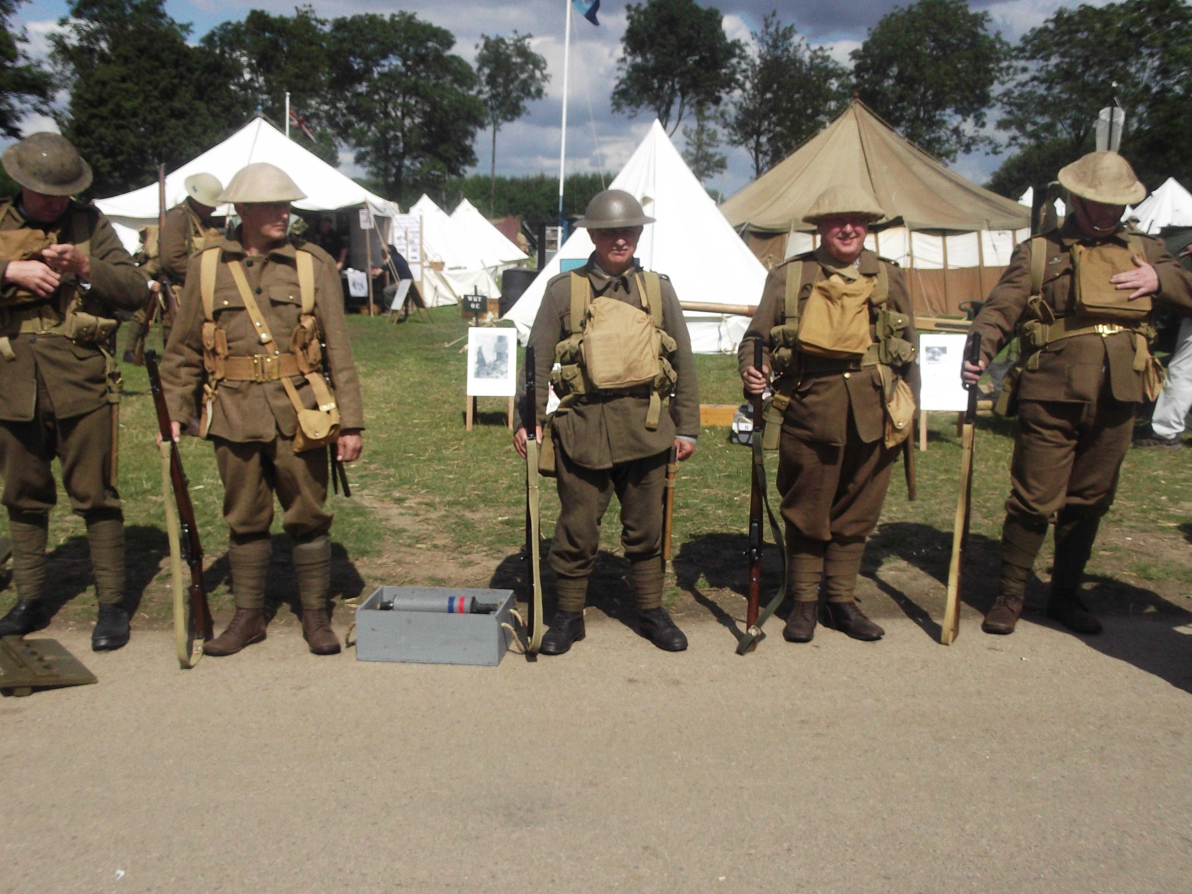 Royal west Kent regiment reenactment group by FFDP-Neko