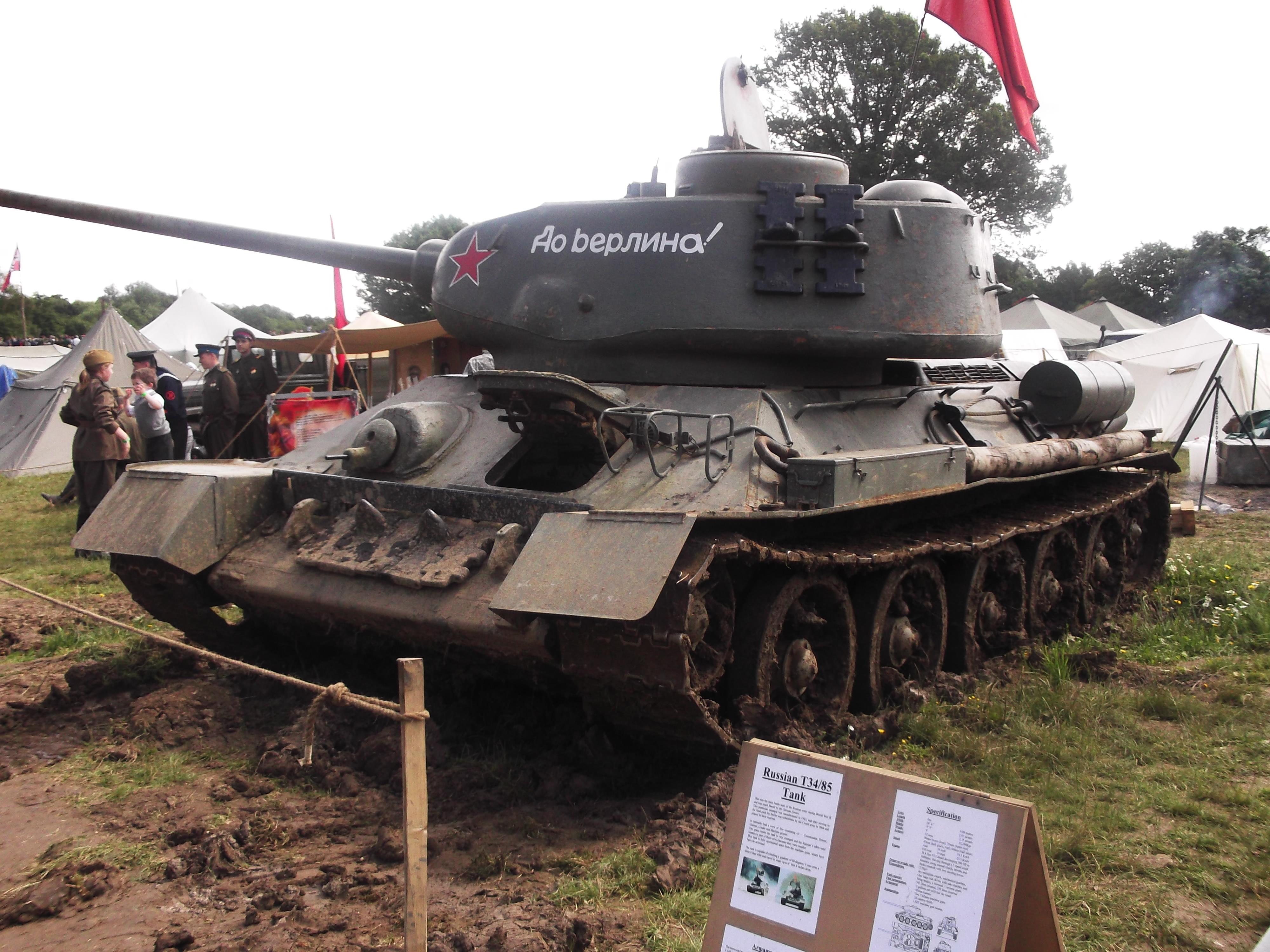 T 34 85 at Paddock wood by FFDP-Neko