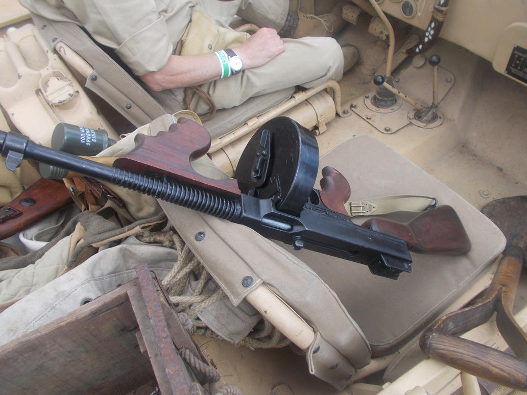 Thompson M1928 by FFDP-Korpiklaaniguy