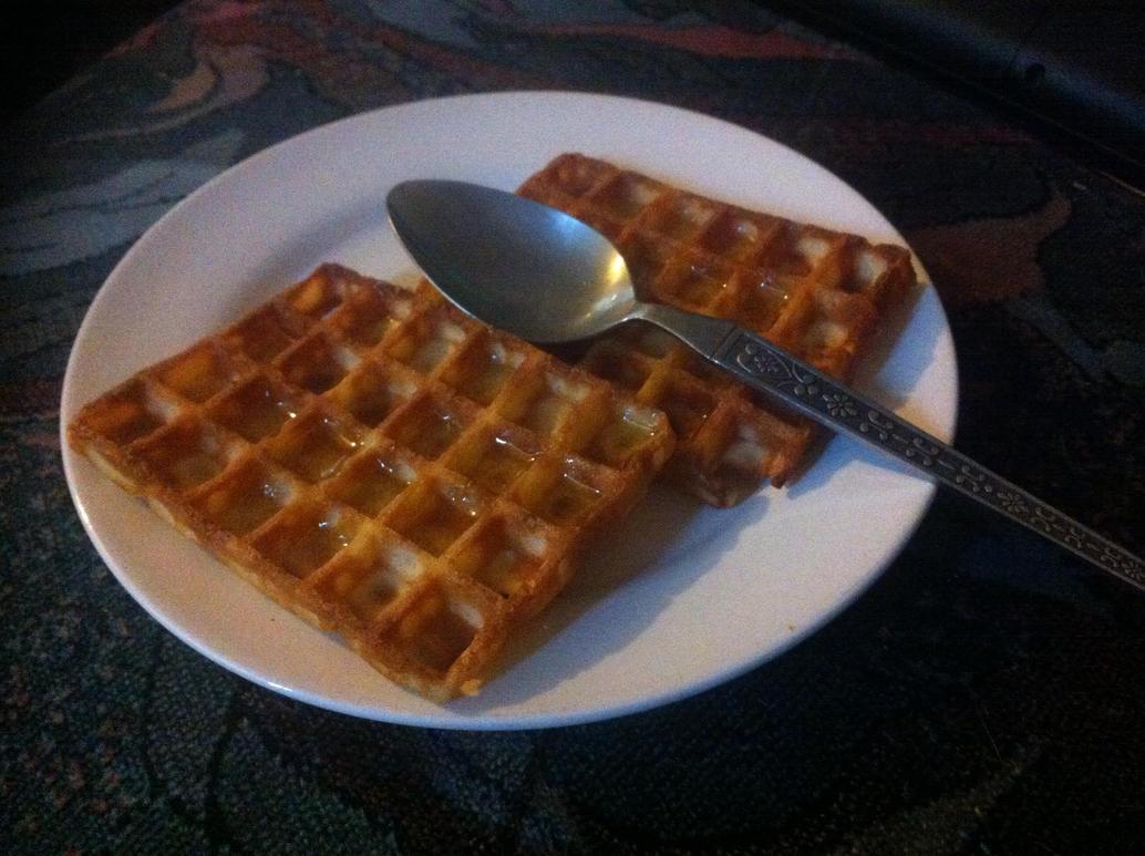 Waffles Are My Breakfast by FFDP-Neko