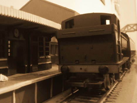 Pannier And It's One Coach Train