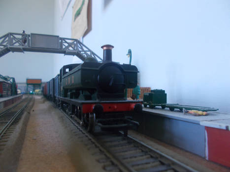 The Goods Train At The Station