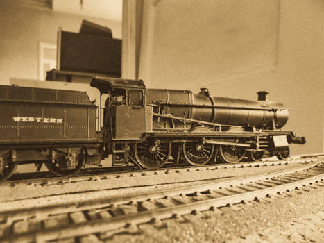 A Grange On The Tracks