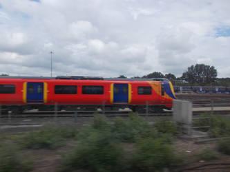 Class 707 Still In Ashford