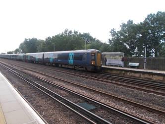 London Charing Cross Bound Train