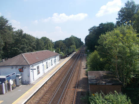 Pluckley Station On A Quiet Midday