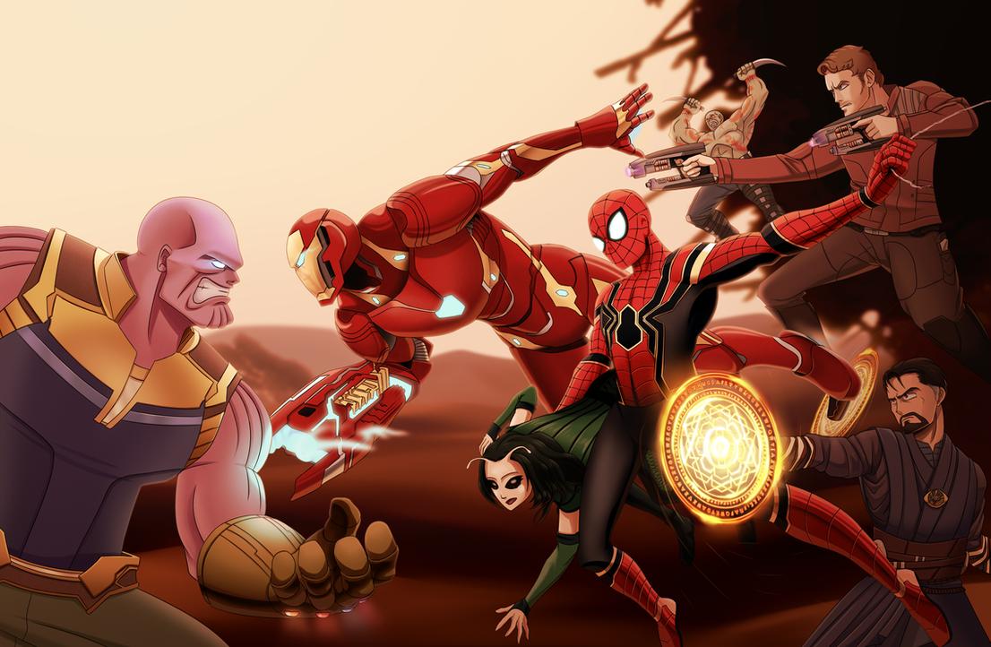 Infinity War by PotterzillaSeries