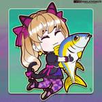 D.Va and her Tuna
