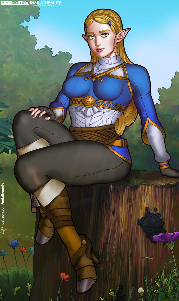 Zelda by MilaTheMute