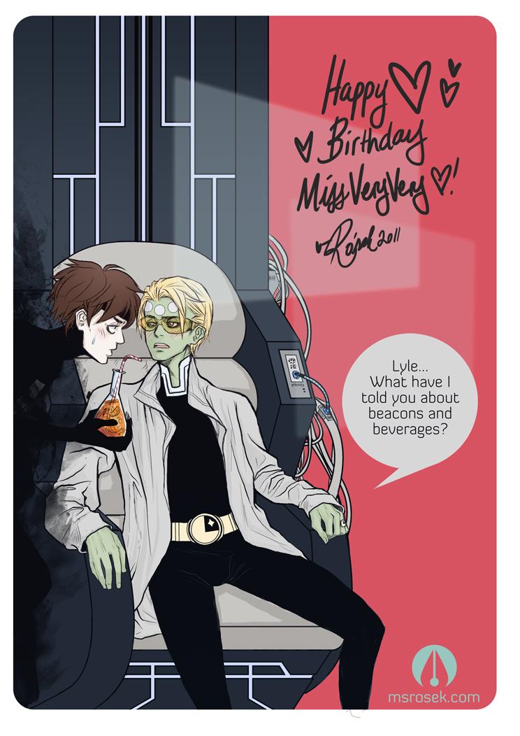 Happy Birthday VV by arekudemon
