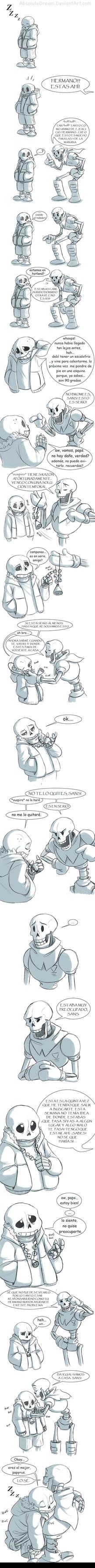 Undertale Comic: Problema de Sonambulismo by Snaaks-Kent