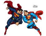 MAN OF STEEL vs. SUPERMAN