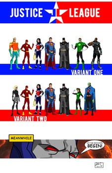 The DC Project: Justice League (founding members)