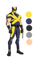 The Marvel Project #3 James Howlett/Wolverine