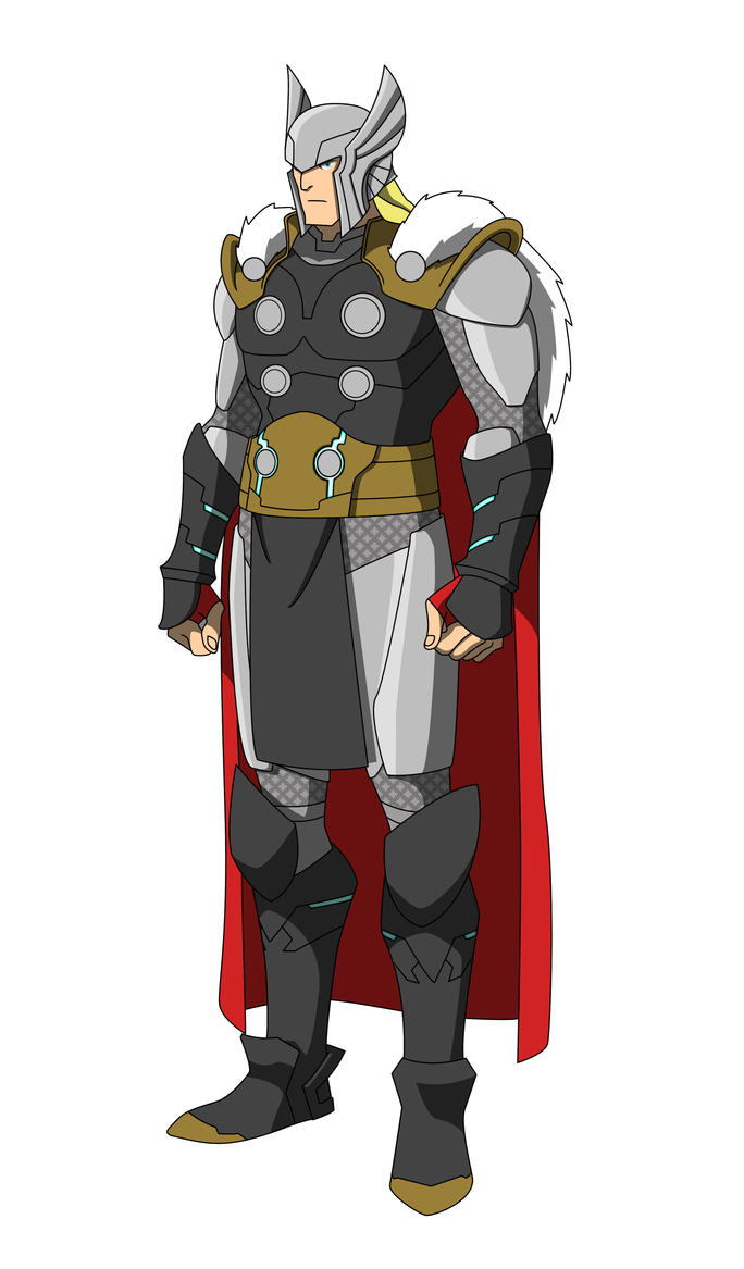 the marvel project 6 thor odinson by huatist