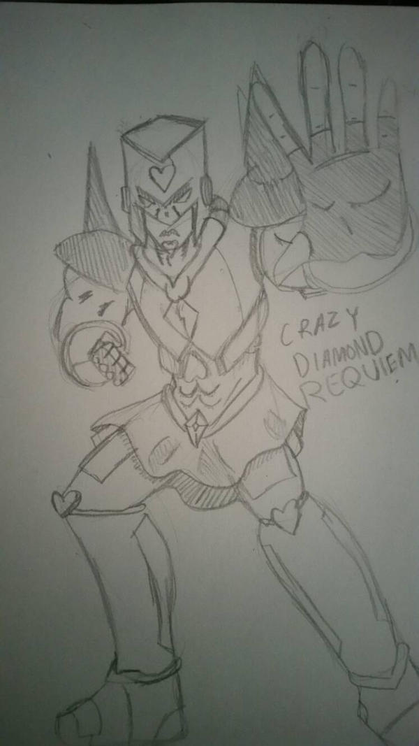 Crazy Diamond Requiem By Theartgen On Deviantart Jojo's bizarre adventure josuke and crazy diamond player model and ragdoll. crazy diamond requiem by theartgen on