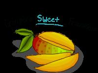 Mango Badge XD by Ginger-Goddess
