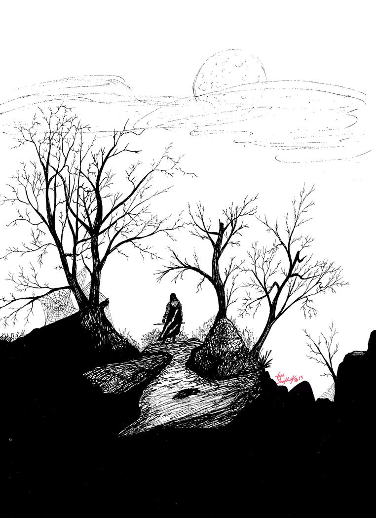 The Lonely Road by Shapshizzle