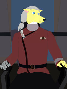 Terrell the Fox Captain - final
