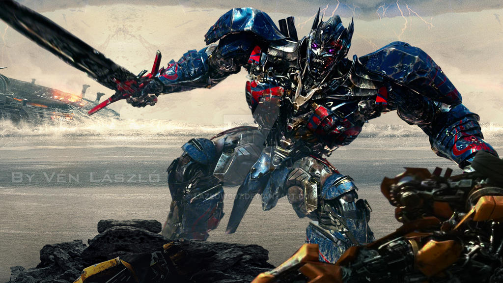 Transformers 5 - Optimus vs Bumblebee by Lazlow007