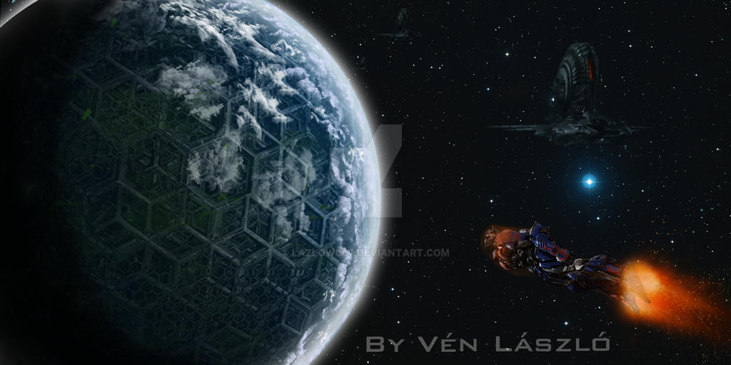 Transformers 5 - Cybertron Combined with Earth by Lazlow007