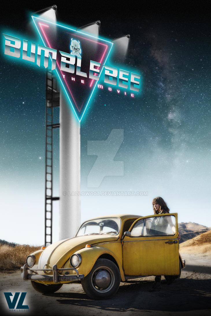 Resultado de imagem para bumblebee movie poster