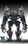Transformers (6): Bumblebee: The Movie - Barricade