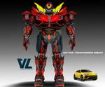 Transformers - Hot Rod Re-designed