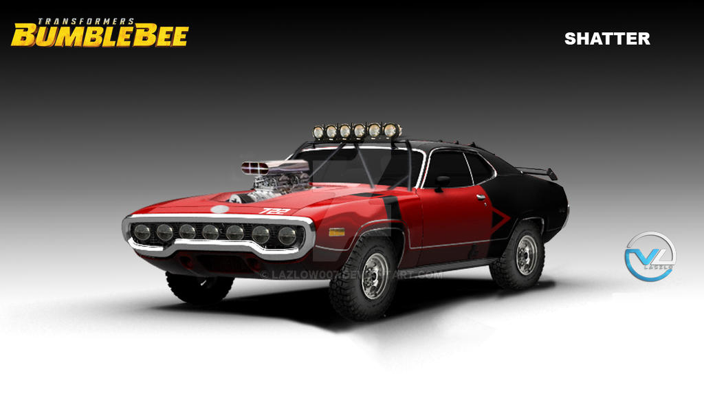 Bumblebee: The Movie - Shatter Plymouth Satellite by Lazlow007 on